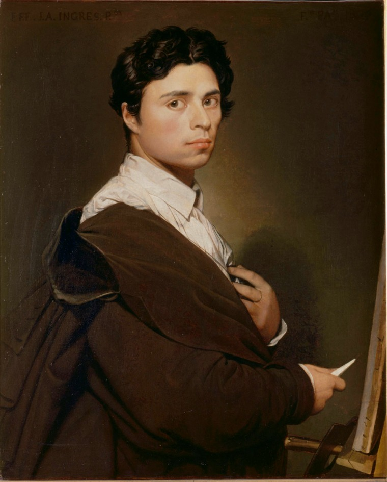 Ingres,_Self-portrait