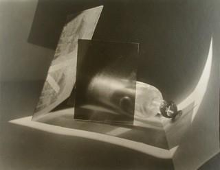 Jaromir Funke Composition bottle and glass 1927 1995 Part of portfolio