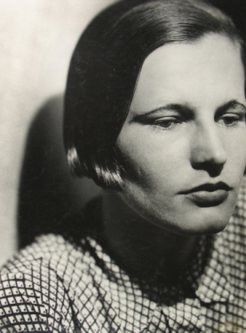 Portrait of a woman with a bob, c.1930