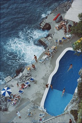 pool on the amalfi coast