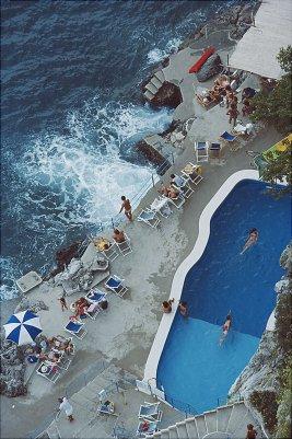 pool on the amalfi coast