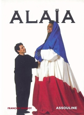 Jessye Norman wearing Azzedine Alaia French flag dress