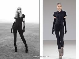 Body suit by Azzedine Alaia
