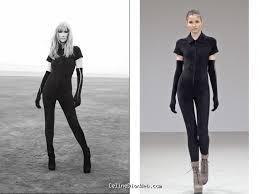 Body suit by Azzedine Alaia