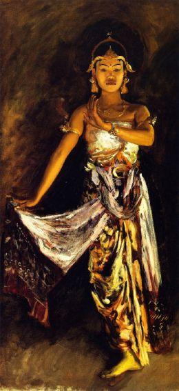 """A Javanese Dancer"", 1889"