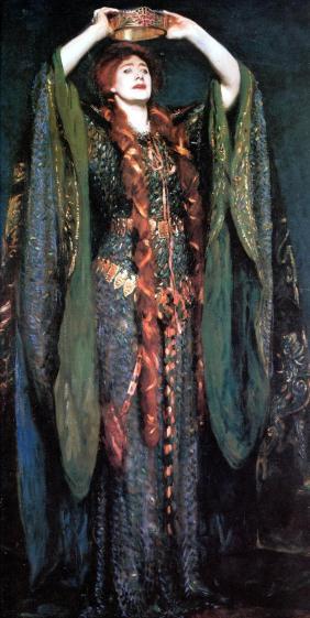 """Ellen Terry as Lady Macbeth"",1889"