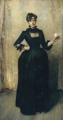 """Lady With The Rose"", 1882"