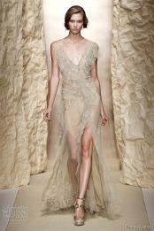 Wedding dress by Donna Karan