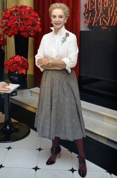 Carolina Herrera herself