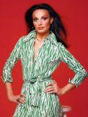 Diane Von Futsenberg wearing her wrap dress