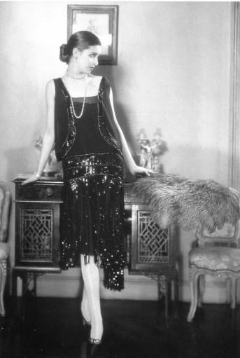 Chanel's famous little black dress