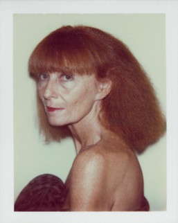 Sonia Rykiel photographed by Andy Warhol in 1986