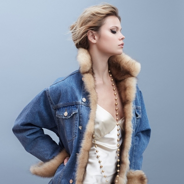 Dress and jacket by Yana