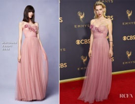 Vanessa-Kirby-In-Marchesa-2017-Emmy-Awards