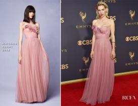 Vanessa-Kirby-In-Marchesa-2017-Emmy-Awards