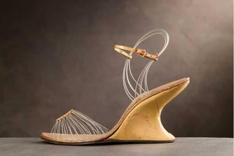 The invisible sandal by Salvatore Ferragamo