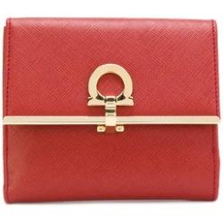 Gancio french flap wallet
