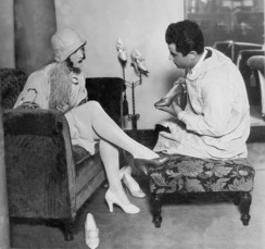 Salvatore Ferragamo with Joan Crawford